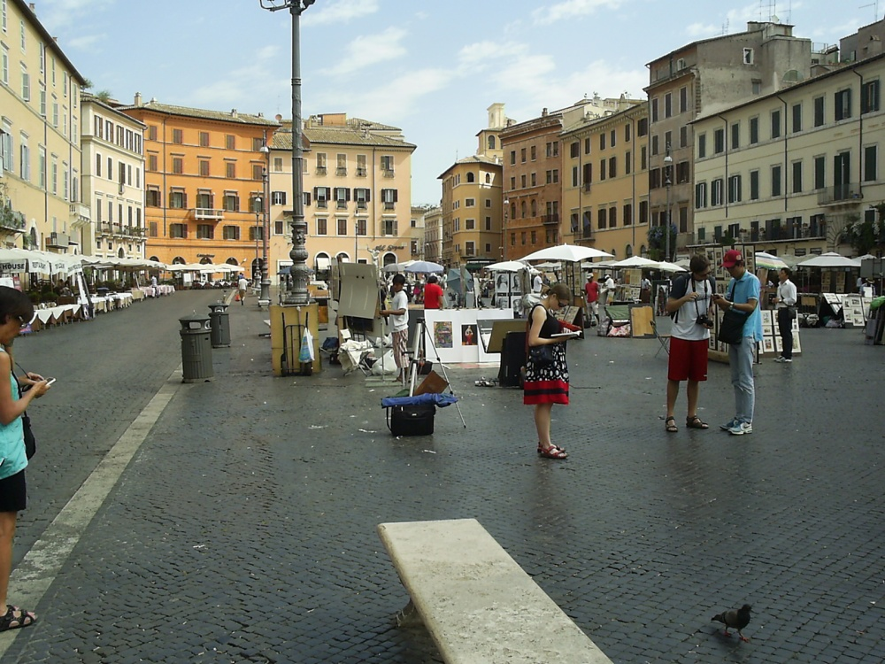 Italy, 2012: Rome on three showers a day. (4/6)