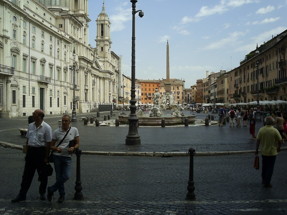 Italy, 2012: Rome on three showers a day. (3/6)